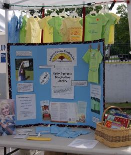 Middlebury Market Booth Display